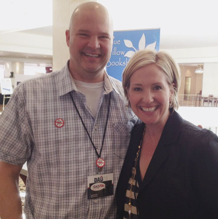 Jeff with Brené Brown